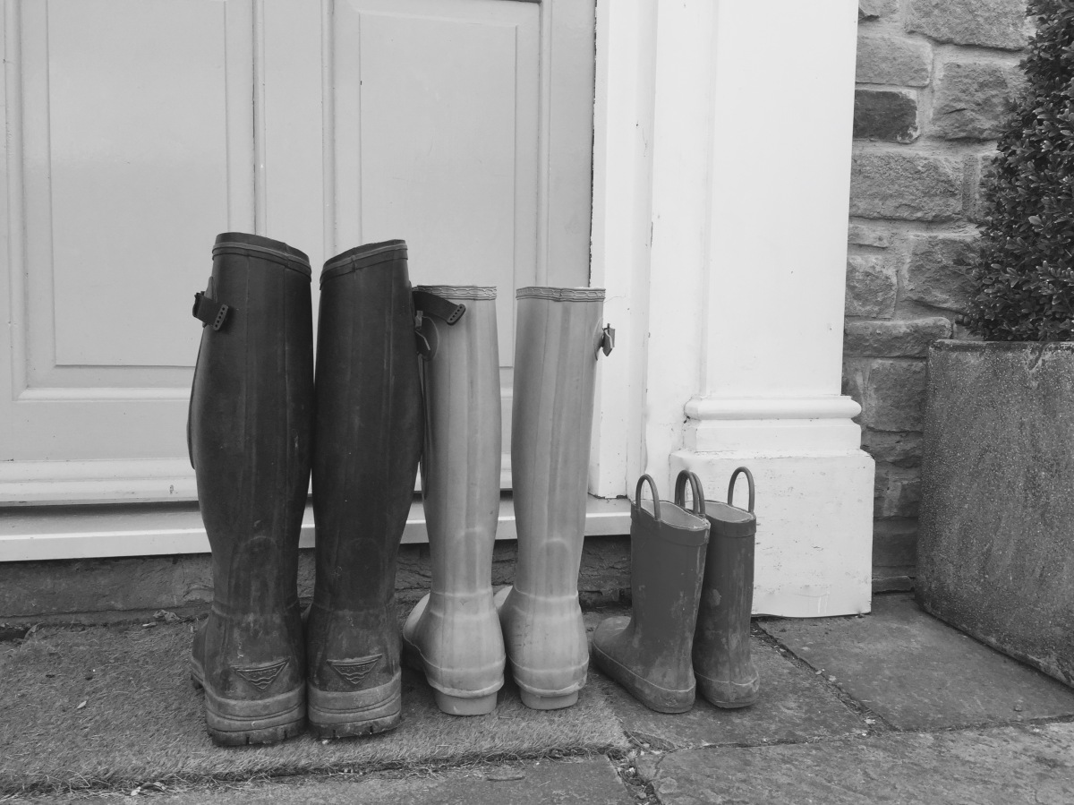 When you long for more wellies by your front door.